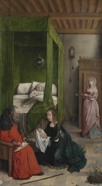 Vaftizci Yahya'nın Doğumu - Juan de Flandes 15.yy