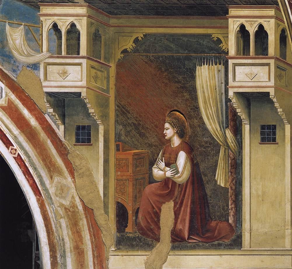 Meryem'e Müjde - Giotto 14.yy