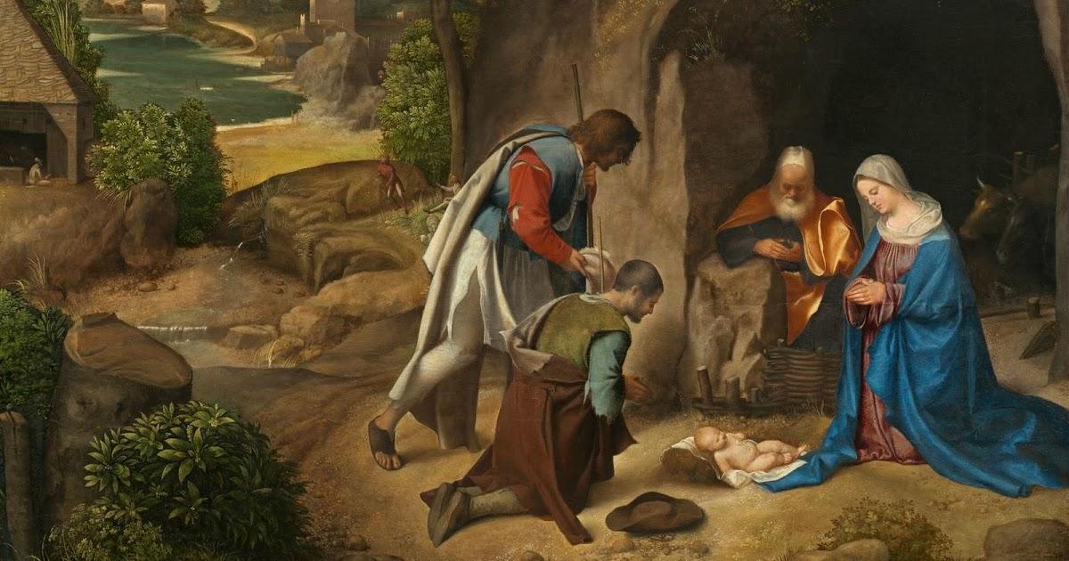 Çobanların Tapınması - Giorgione 16.yy