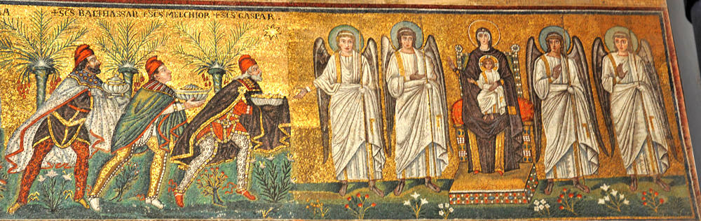 Kahin Kralların Tapınması - Anonim 6.yy