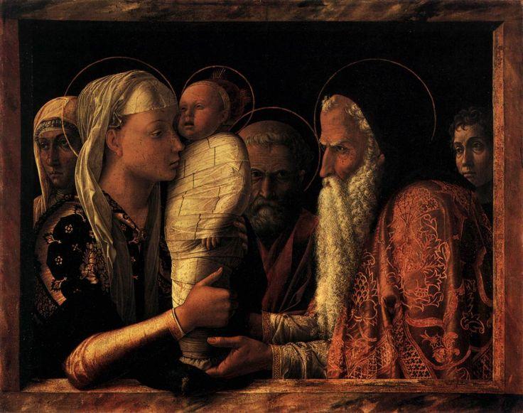 İsa'nın Tapınağa Takdim - Andrea Mantegna 15.yy