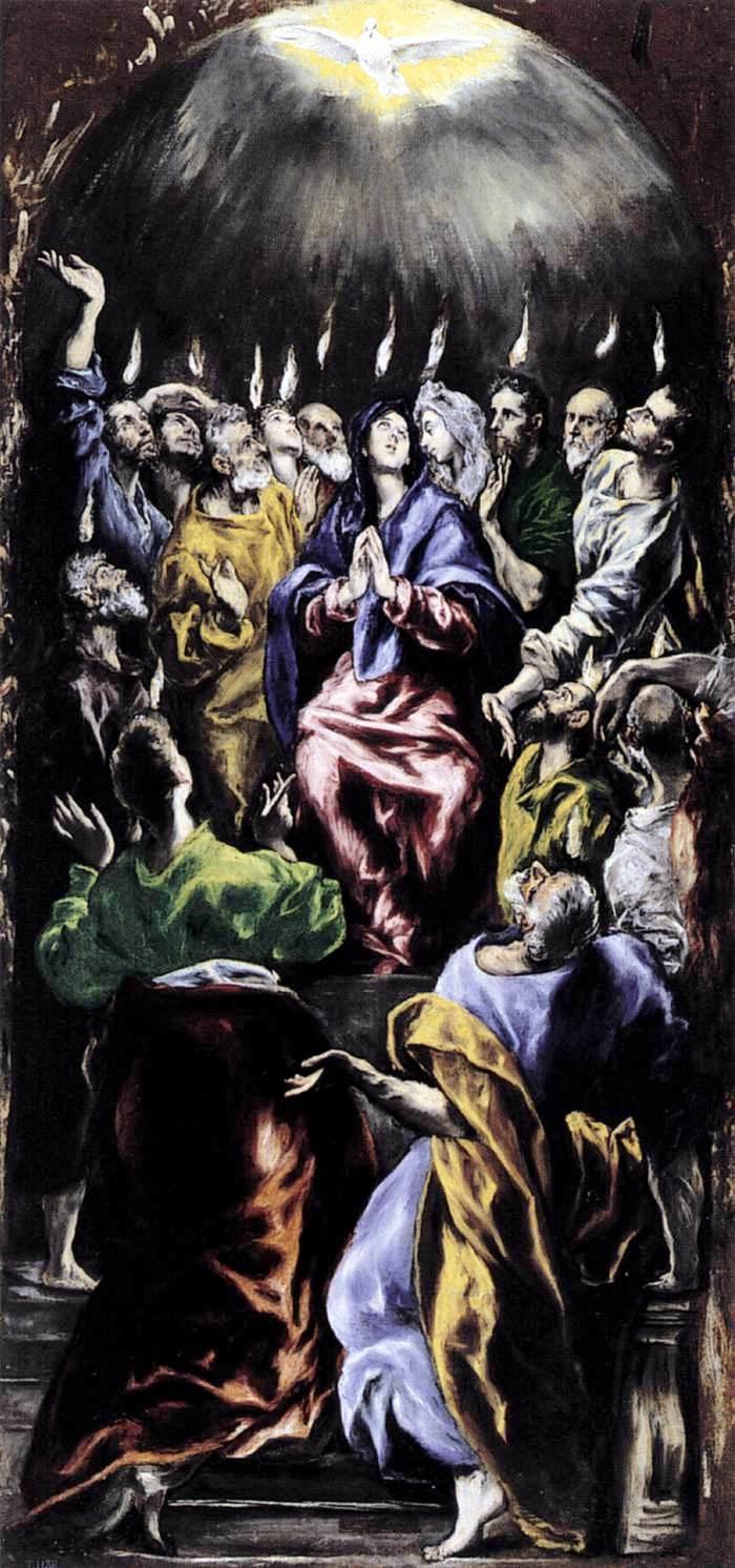 Pentikost - El Greco 16.yy