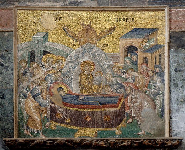 Meryem'in Ölümü - Anonim 14.yy