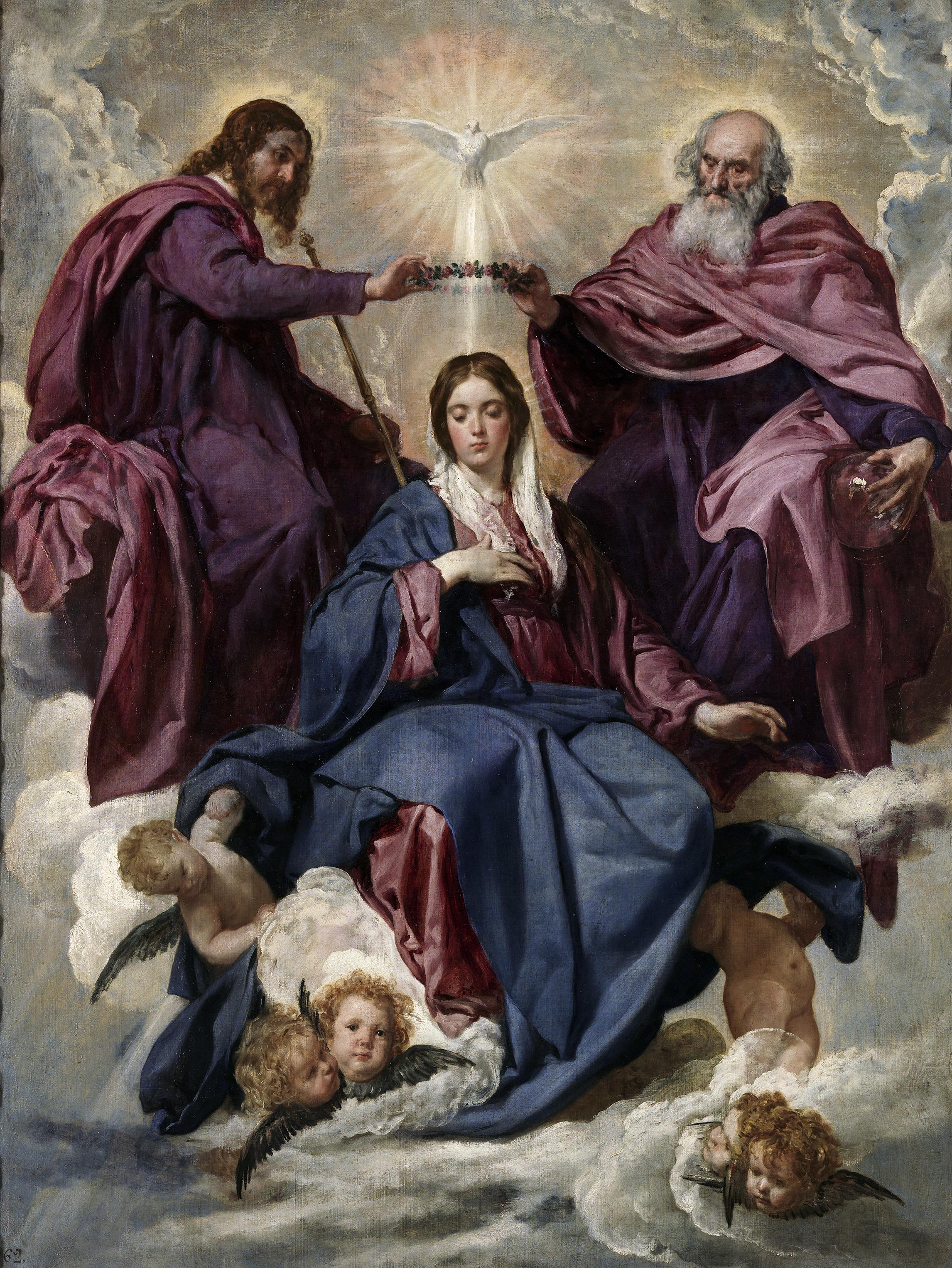 Meryem'in Taç Giymesi - Velazquez 17.yy