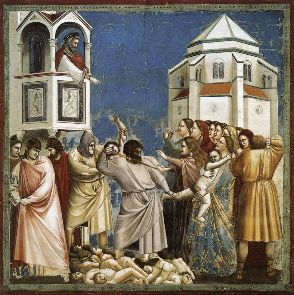 Masumların Katli - Giotto 14.yy