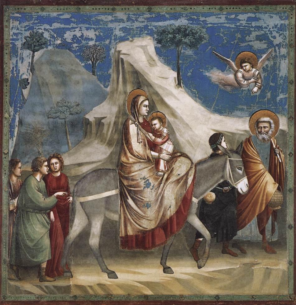 Mısıra Kaçış - Giotto 14.yy