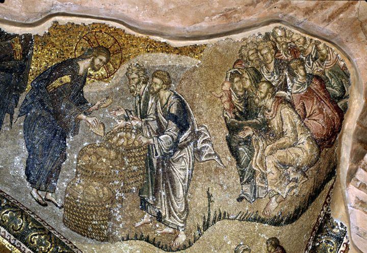 Ekmeklerin Çoğaltılması - Anonim 14.yy