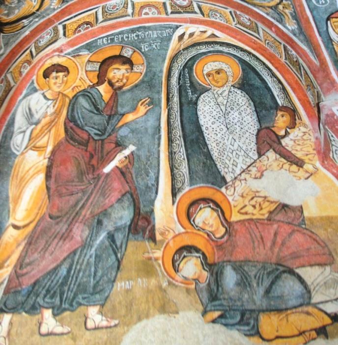 Lazarus'un Dirilişi - Anonim Orta Bizans Dönemi