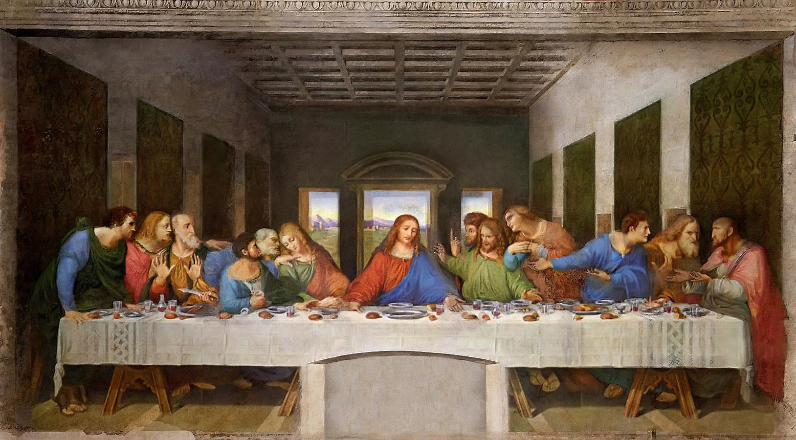 Son Akşam Yemeği - Leonardo Da Vinci 15.yy