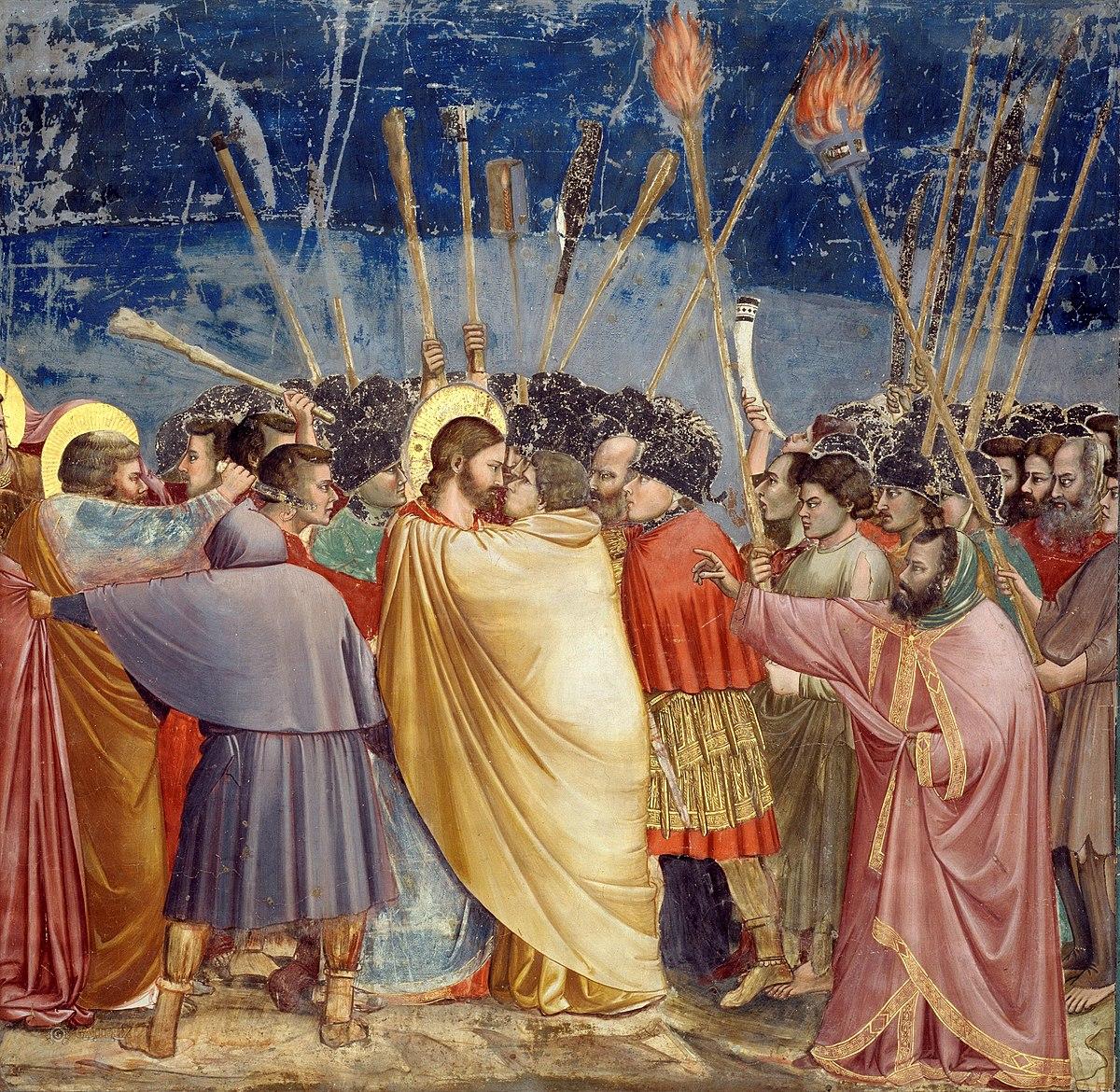 Yudas'ın İhaneti - Giotto 14.yy