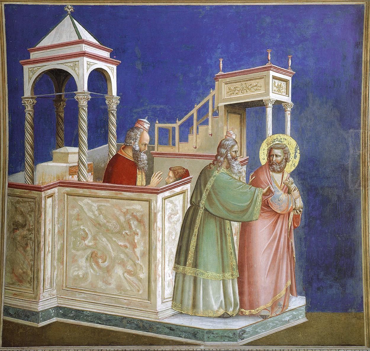 Joachim'in Tapınaktan Kovulması - Giotto 14.yy