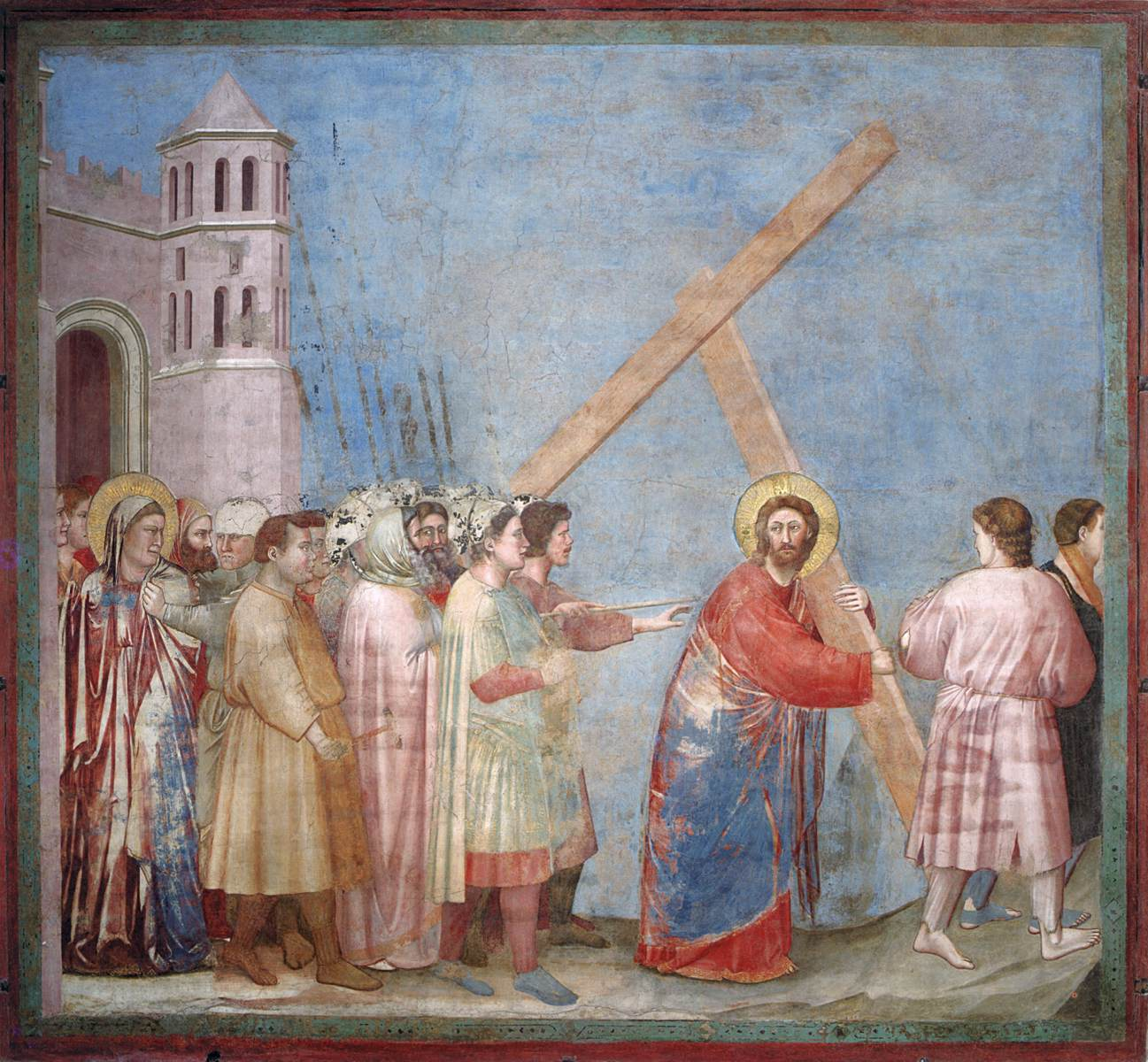 İsa'nın Çilesi - Giotto 14.yy