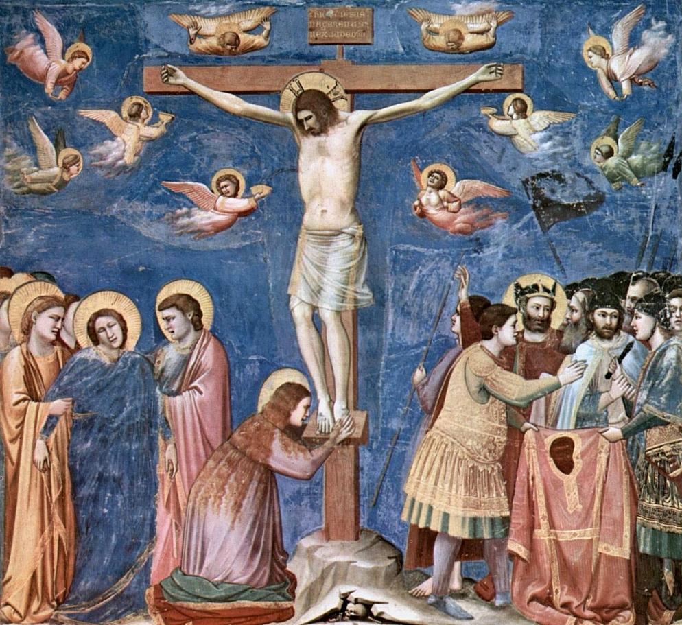 Çarmıh Sahnesi - Giotto 14.yy