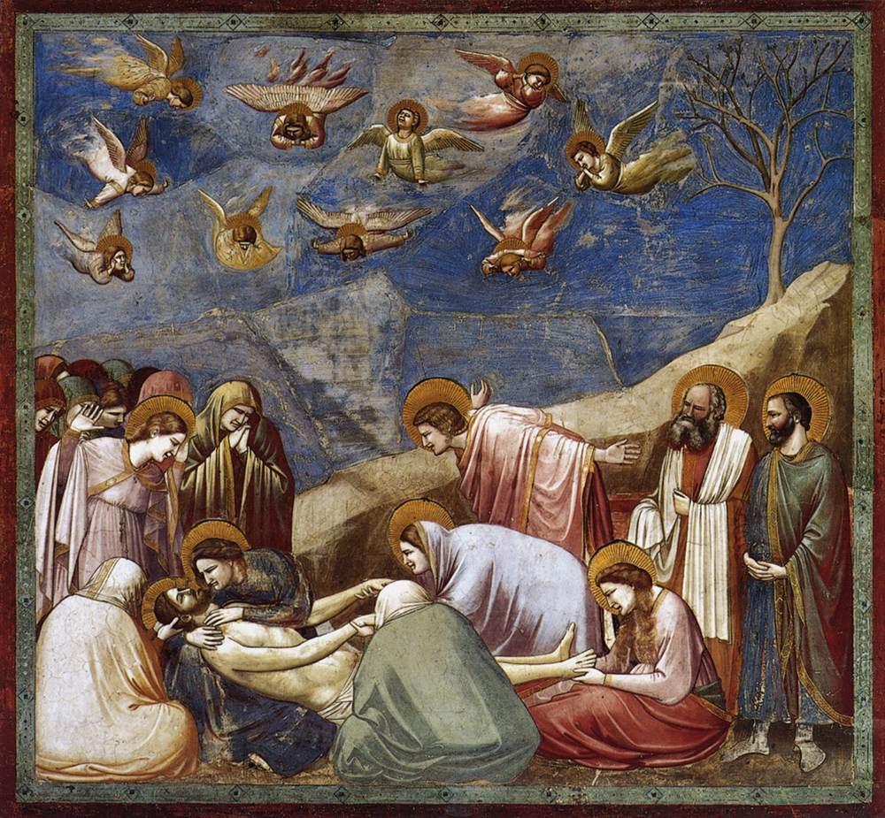 Çarmıhtan İndiriliş - Giotto 14.yy