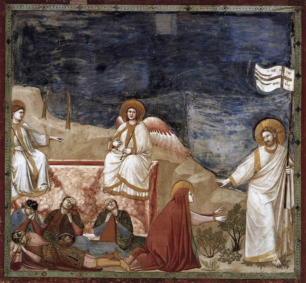 İsa'nın Dirilişi - Giotto 14.yy