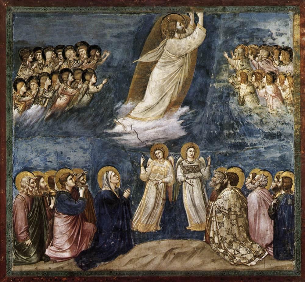İsa'nın Göğe Yükselişi - Giotto 14.yy