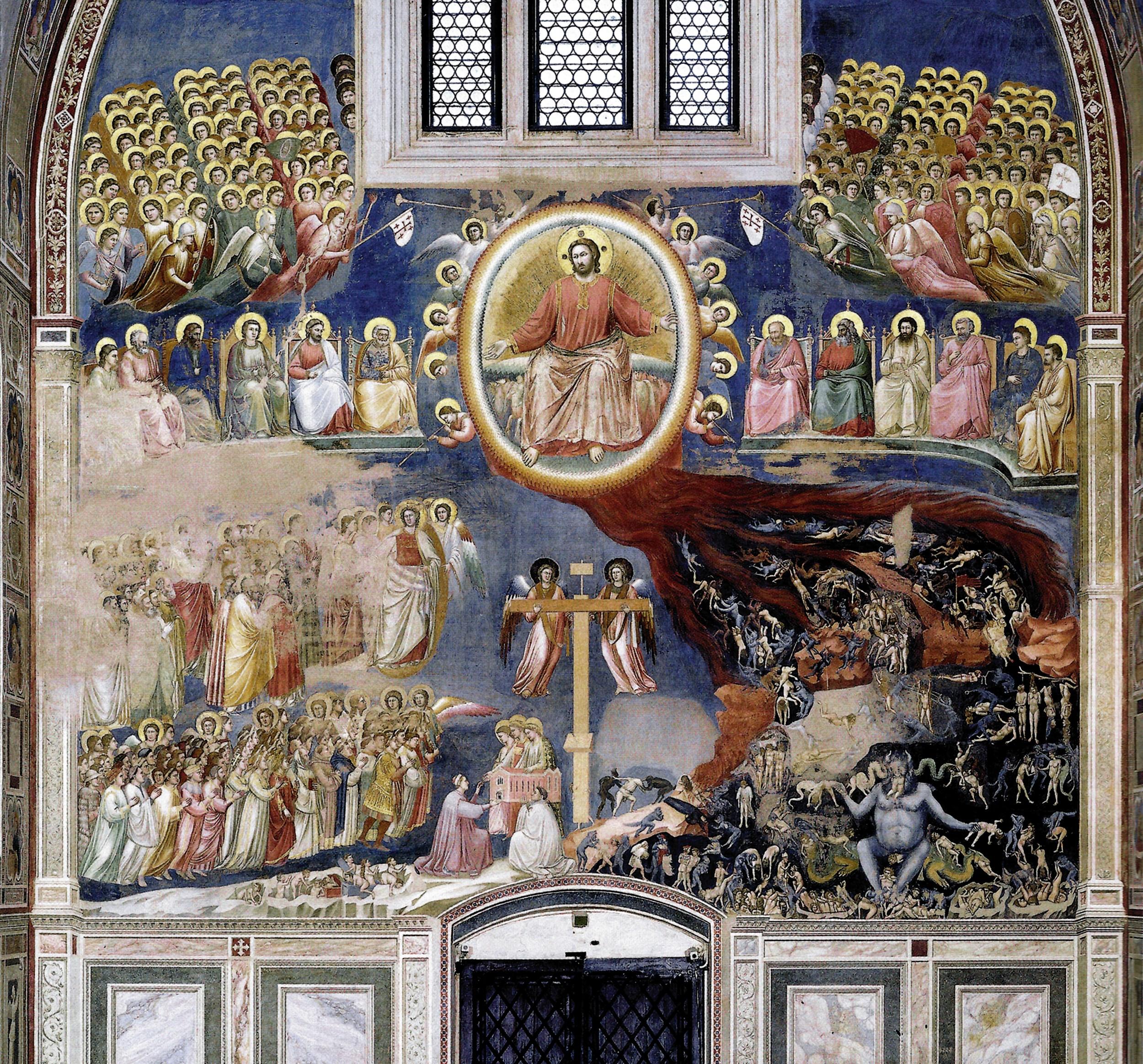 Mahşer - Giotto 14.yy
