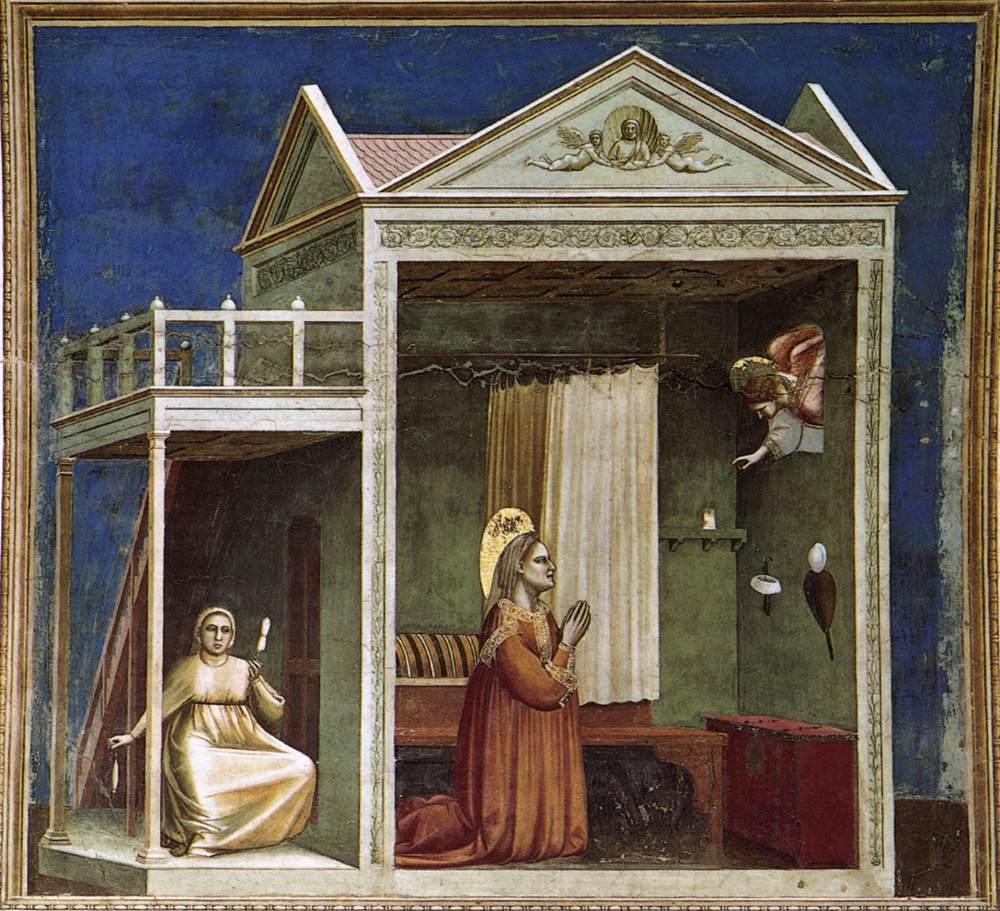 Anna'ya Müjde - Giotto 14.yy