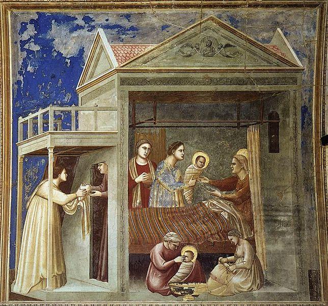 Meryem'in Doğumu - Giotto 14.yy