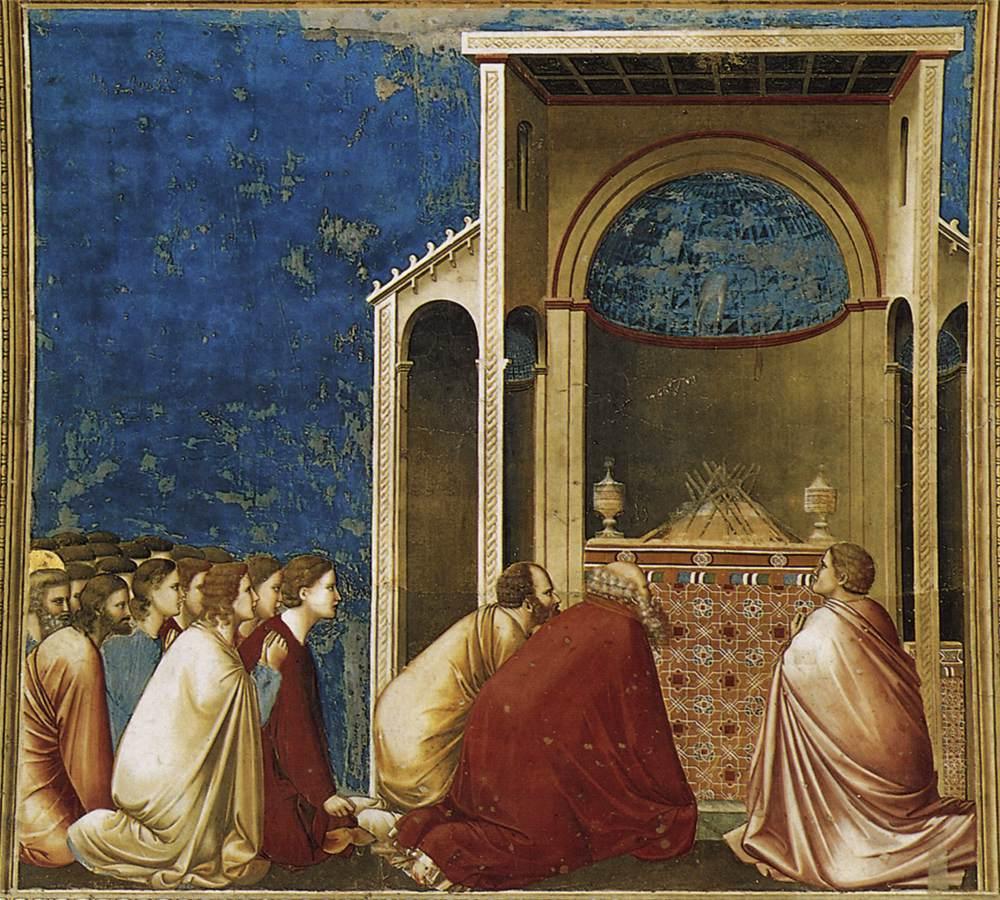 Adayların Duası - Giotto 14.yy