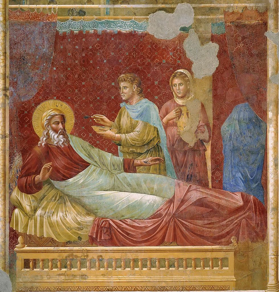 Yakup ve İshak - Giotto 13.yy