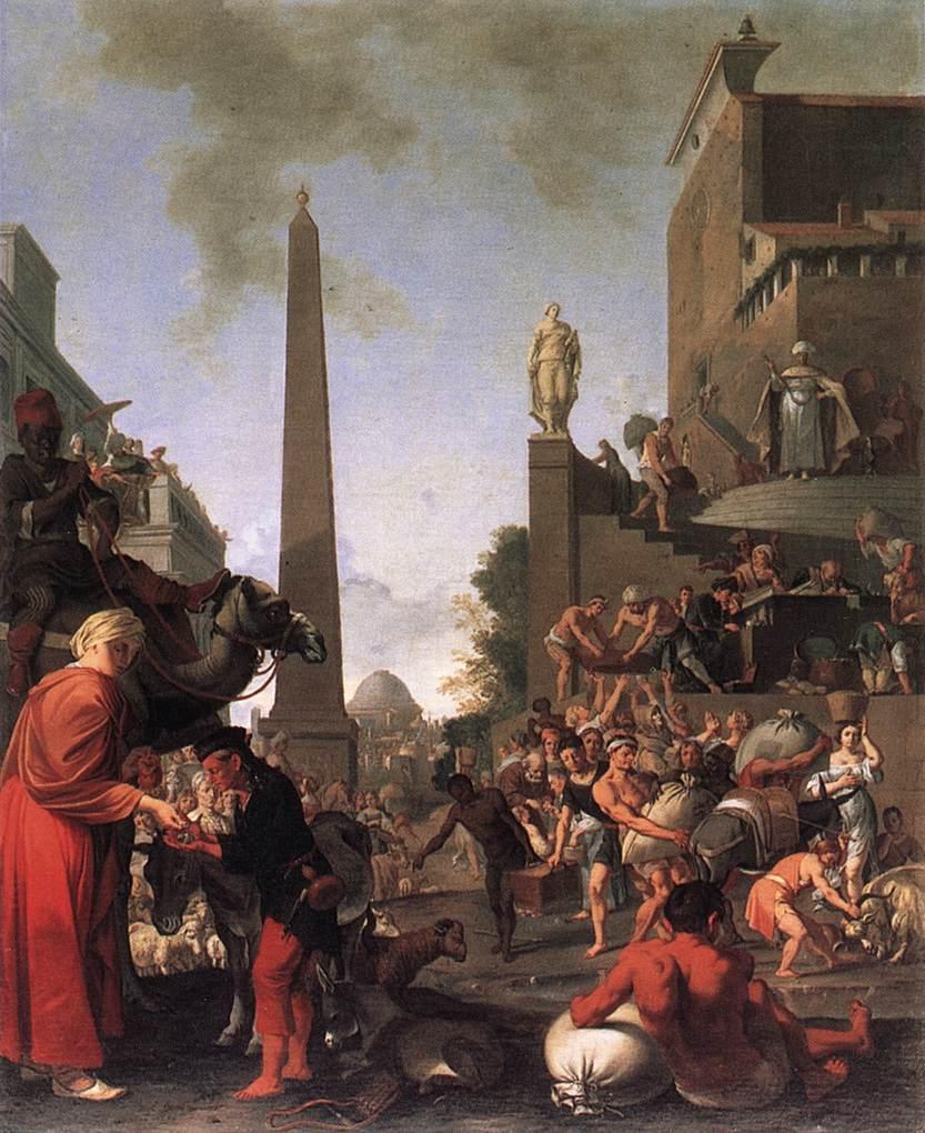 Yusuf'un Satılması - Bartholomeus Breenbergh 17.yy