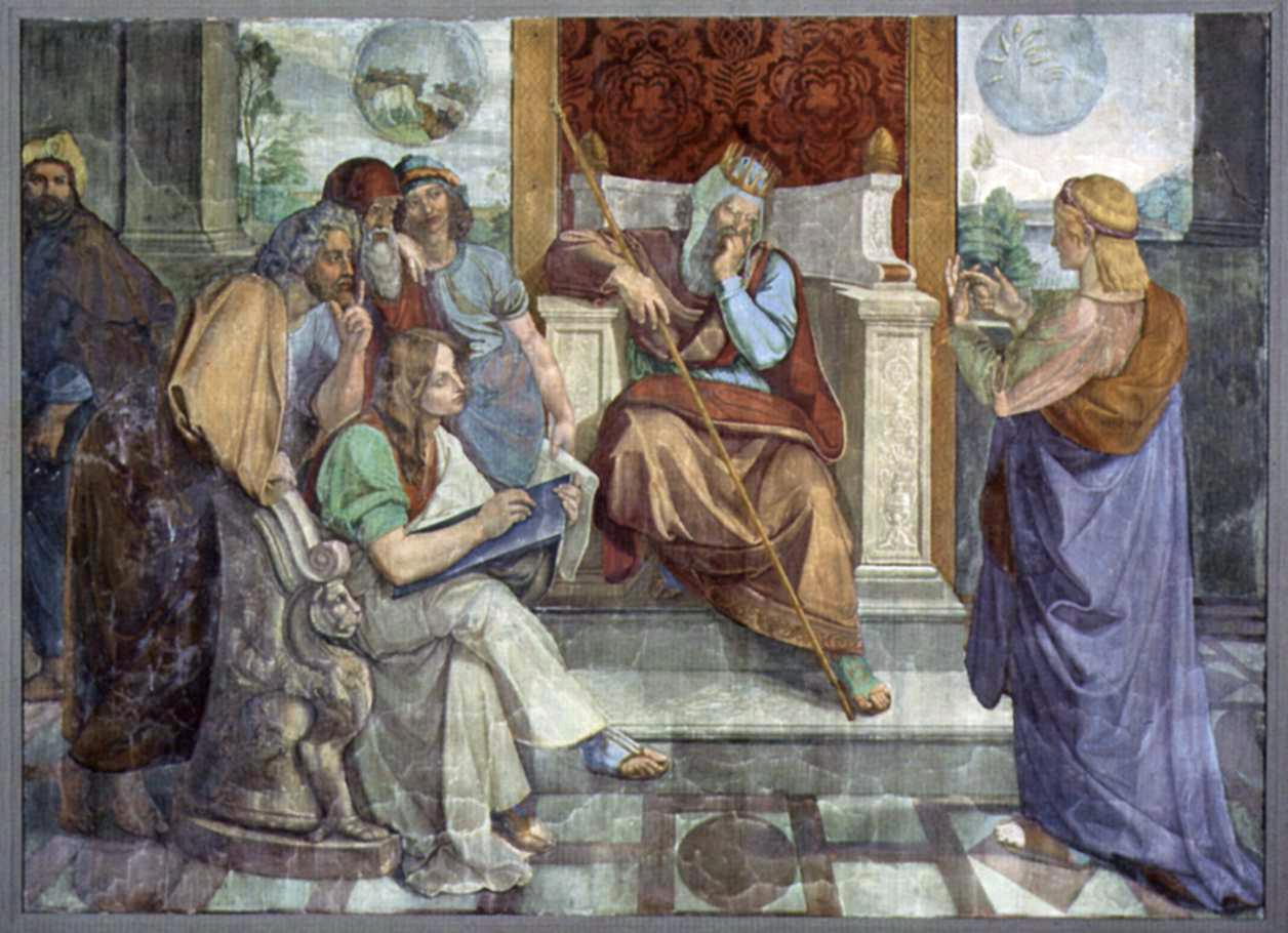 Firavun'un Düşü ve Yusuf - Peter Cornelius 19.yy