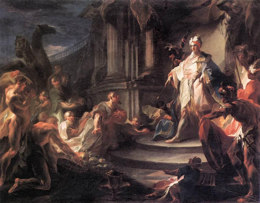 Yusuf ve Kardeşleri - Franz Anton Maulbertsch 18.yy