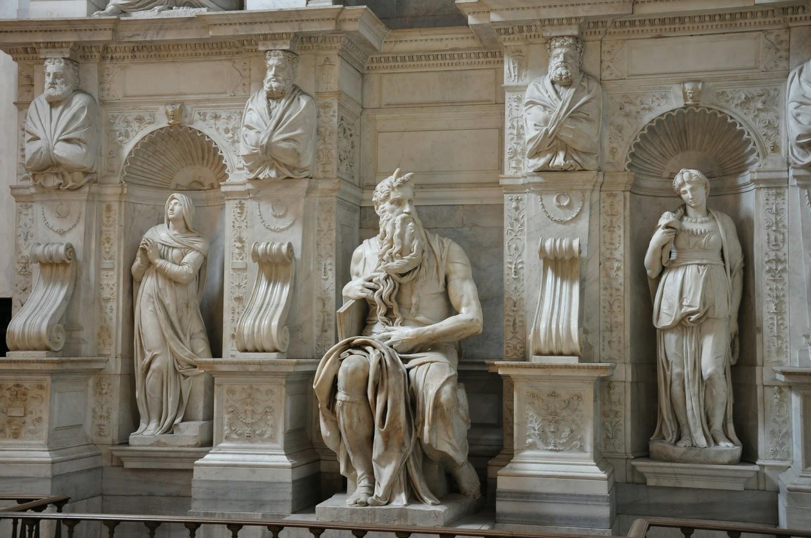 Musa Heykeli - Michelangelo 16.yy