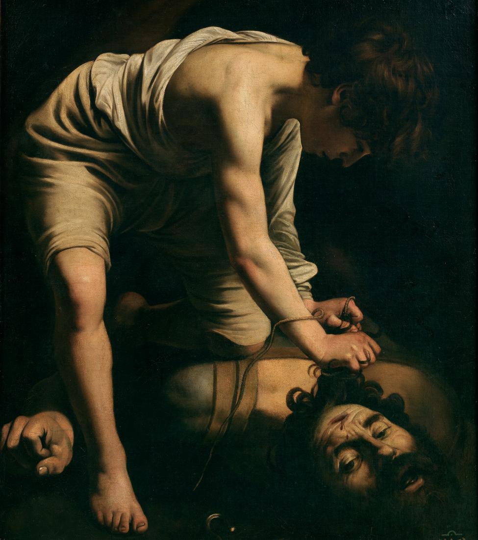 Davut ile Golyat - Caravaggio 16.yy