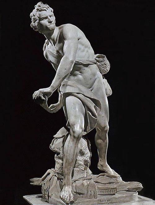 Davut Heykeli - Bernini 17.yy
