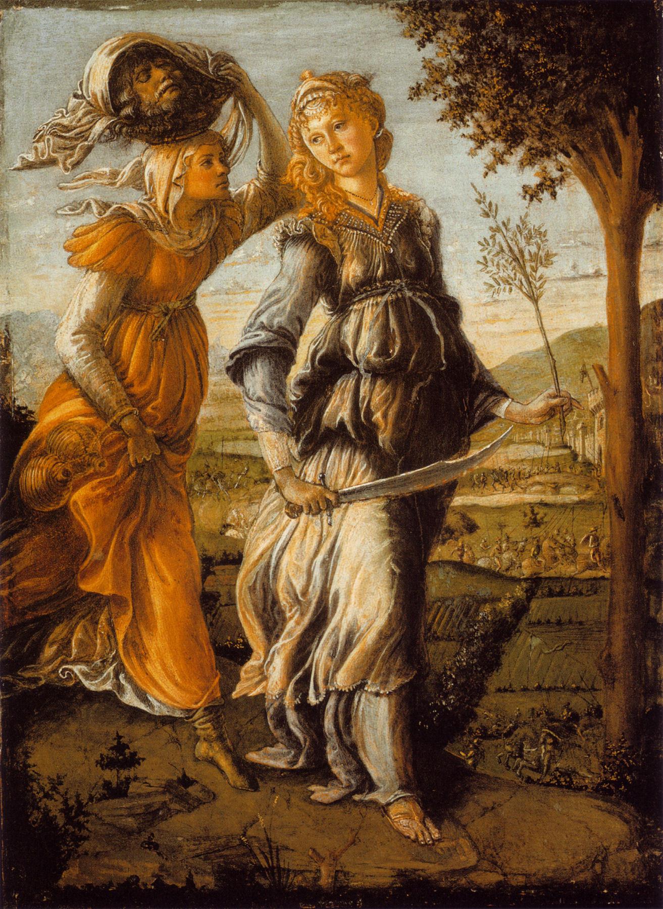 Judith'in Betülya'ya Dönüşü - Sandro Botticelli 15.yy